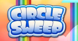 Circle Sweep: kostenloses Match-3-Puzzle im Kreis