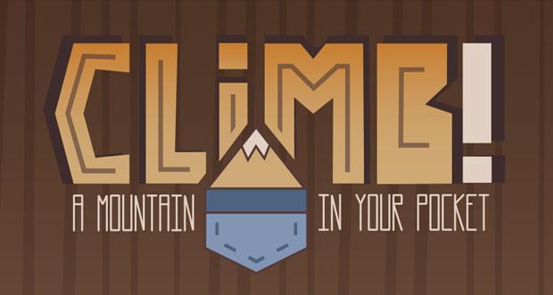 """""""Climb!"""" ist eine anspruchsvolle Kletterei als Premium-Download"""