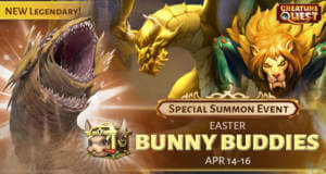 Creature Quest erhält eine brandneue Reihe von festlichen Updates, um Ostern zu feiern