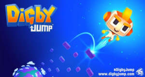"Digby Jump: neues Highscore-Gehüpfe vom ""Pac-Man 256""-Entwickler"