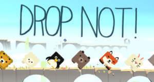 """""""DROP NOT!"""" von Oddrok: bloß nicht in die Tiefe fallen"""