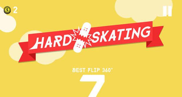 """Neues Highscore-Game """"Hard Skating"""" macht seinem Namen alle Ehre"""