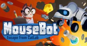 """""""MouseBot"""" neu von Vector Unit: die Flucht aus einem fiesen Katzen-Labor"""
