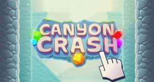 Canyon Crash: freier Fall durch eine diamantenreiche Schlucht