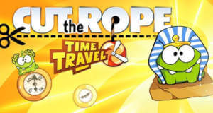 """Cut the Rope: Time Travel"" für iPhone und iPad nur je 49 Cent"