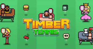 Timber Tennis: neues Arcade-Tennis-Game mit dem bekannten Holzfäller