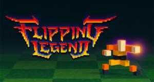 Flipping Legend: hektisches Highscore-Gehüpfe von Noodlecake Games