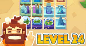 Level 24: mit 2048-Gameplay Zivilisationen aufbauen