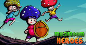 Mushroom Heroes: in neuem Puzzle-Plattformer kommt es auf Teamwork an