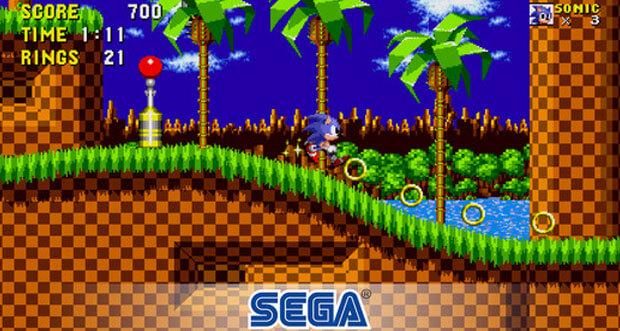 """Sega weckt Kindheitserinnerungen mit 5 Spiele-Klassikern """"neu"""" für iOS"""