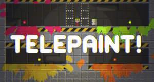 """Kunterbunter Puzzle-Plattformer """"Telepaint"""" erstmals gratis & mit 40 neuen Leveln (Update)"""
