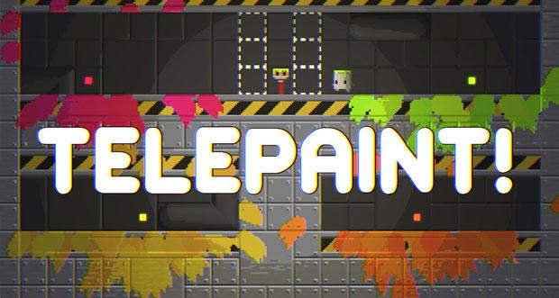 """Kunterbunter Puzzle-Plattformer """"Telepaint"""" erstmals gratis & mit 40 neuen Leveln"""