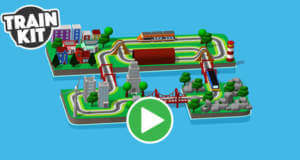Train Kit: virtuelle Modelleisenbahn erstmals kostenlos
