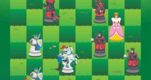 Knight Saves Queen: ritterliches Schach-Puzzle neu für iOS