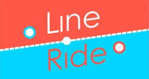 Line Ride: einen Ball durch eine gefährliche Endlos-Welt lotsen