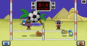 Pixel Volley: neues Volleyballspiel für ein oder zwei Spieler