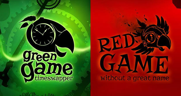 """""""Red Game Without A Great Name"""" & """"Green Game TimeSwapper"""" erstmals reduziert"""