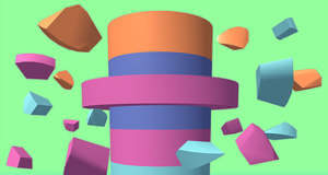 Smash Rings: Highscore-Puzzle mit buntem Turm erfordert gute Reaktionen