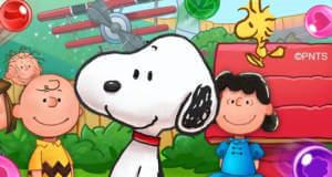 Snoopy Pop: neuer F2P-Bubble-Shooter mit dem kleinen Kult-Hund