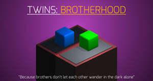 """Im neuen Puzzle """"Twins: Brotherhood"""" bewegt ihr zwei Würfel auf einmal"""