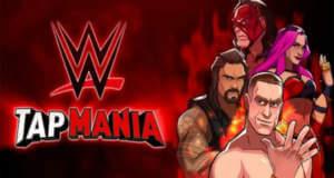 WWE Tap Mania: neues Clicker-Game mit den Superstars der WWE von Sega