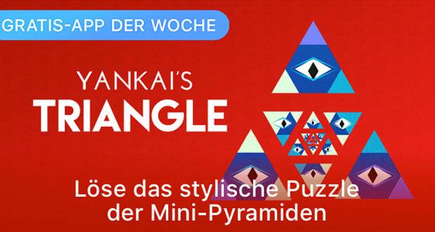 """Dreieck-Puzzle """"Yankai's Triangle"""" ist Gratis-App der Woche"""