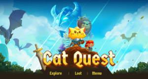 Cat Quest: magisches Adventure mit kleinen Katzen und riesigen Drachen