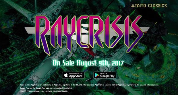 """Arcade-Shooter-Klassiker """"RAYCRISIS"""" ist für iOS erschienen"""