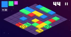 Square Blast: geschicktes Entfalten in endlosem Match-3-Puzzle