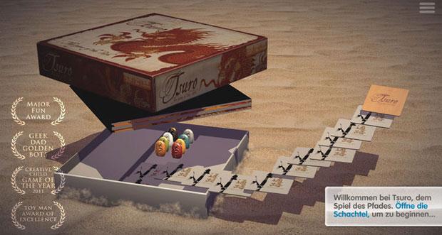 """Brettspiel """"Tsuro – Das Spiel des Pfades"""" erstmals gratis laden"""