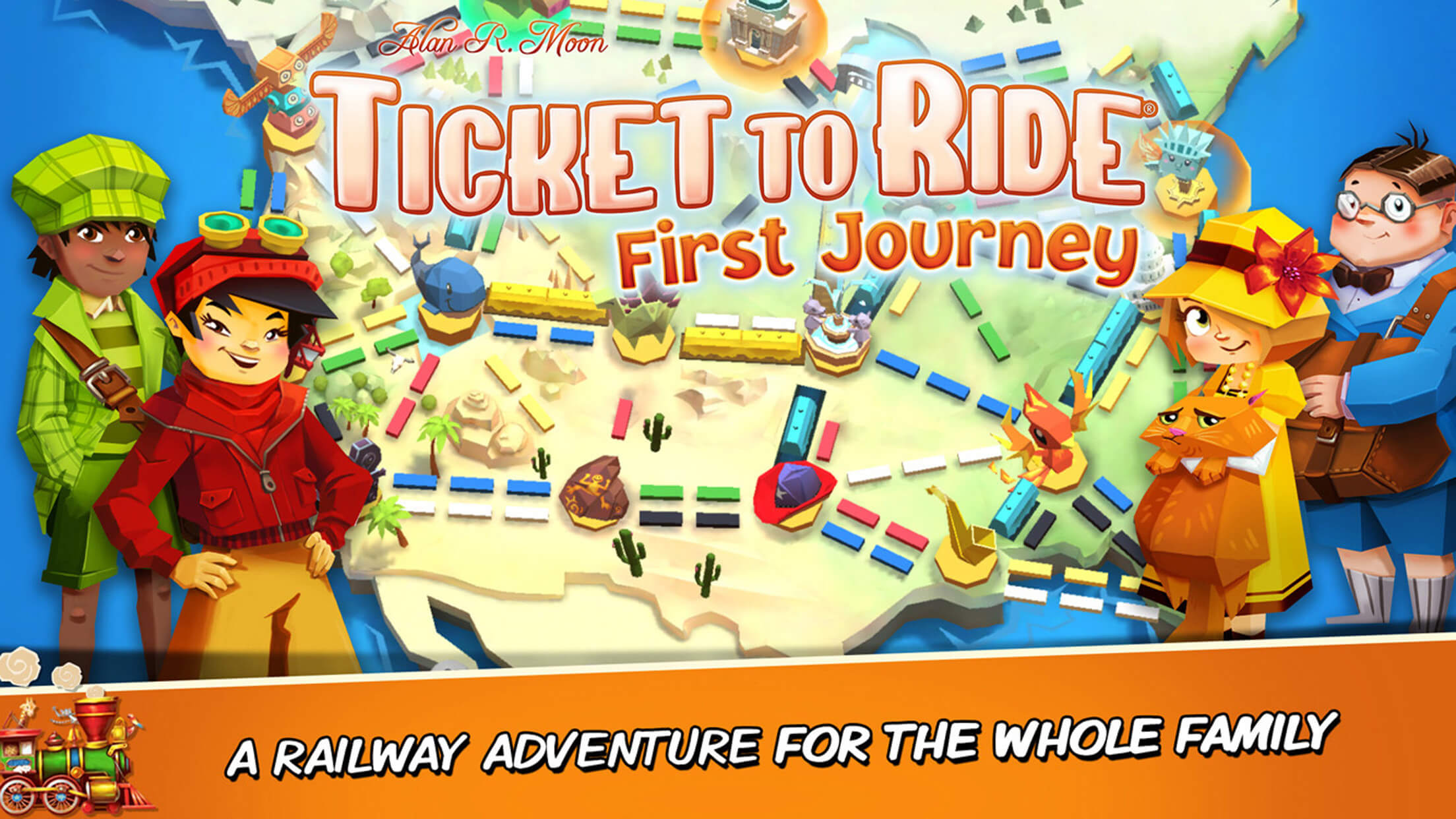 Ticket to Ride: First Journey iOS
