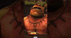 Bored Ogre: mittelalterliche Minispiele mit einem Ungeheuer