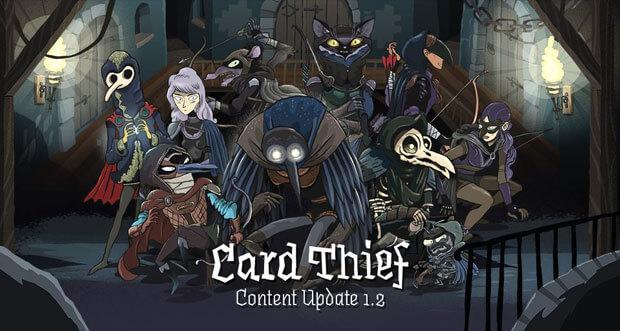 """Strategie-Kartenspiel """"Card Thief"""" erhält erstes großes Content-Update"""