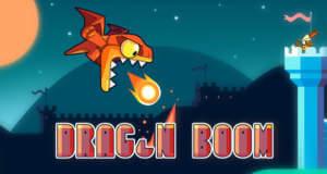 Drag'n'Boom: rasantes Arcade-Game mit einem pubertierenden Drachen