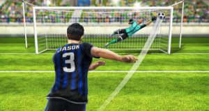 Football Strike: Fussball-Duelle als Schütze und Keeper