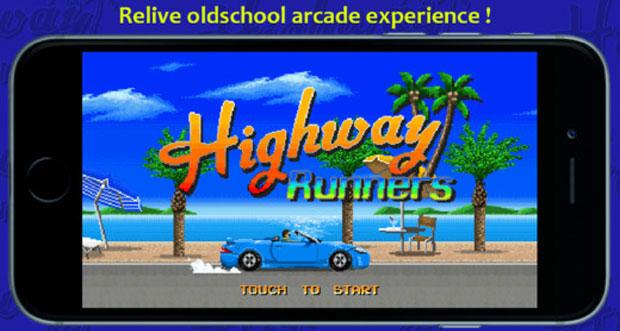 """Retro-Rennspiel """"Highway Runners"""" erstmals reduziert"""