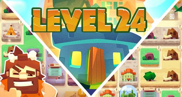 """Puzzle """"Level 24"""" erstmals für lau aus dem AppStore laden (Update)"""