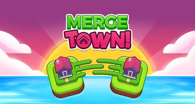"""Im Clicker-Puzzle """"Merge Town!"""" erbaut ihr euch eure eigene Stadt"""