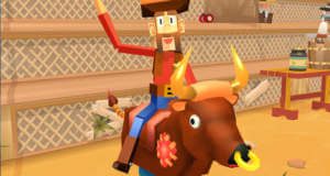 Blocky Bronco: Bullriding als Highscore-Game neu von Full Fat Games
