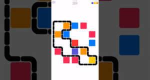 Color Fence: in diesem Puzzle müsst ihr bunte Quadrate einzäunen