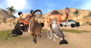 "Sale: alle ""Goat Simulator""-Spiele inklusive neuem ""Goat Simulator PAYDAY"" reduziert"