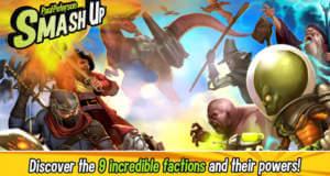Smash Up: preisgekröntes Kartenspiel von Asmodee neu für iOS