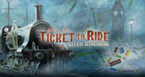 """Brettspiel """"Ticket to Ride"""" erhält umfangreiche Erweiterung """"United Kingdom"""""""