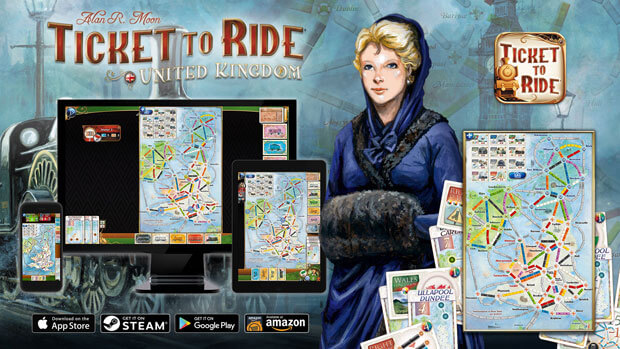 Ticket to Ride: United Kingdom iOS