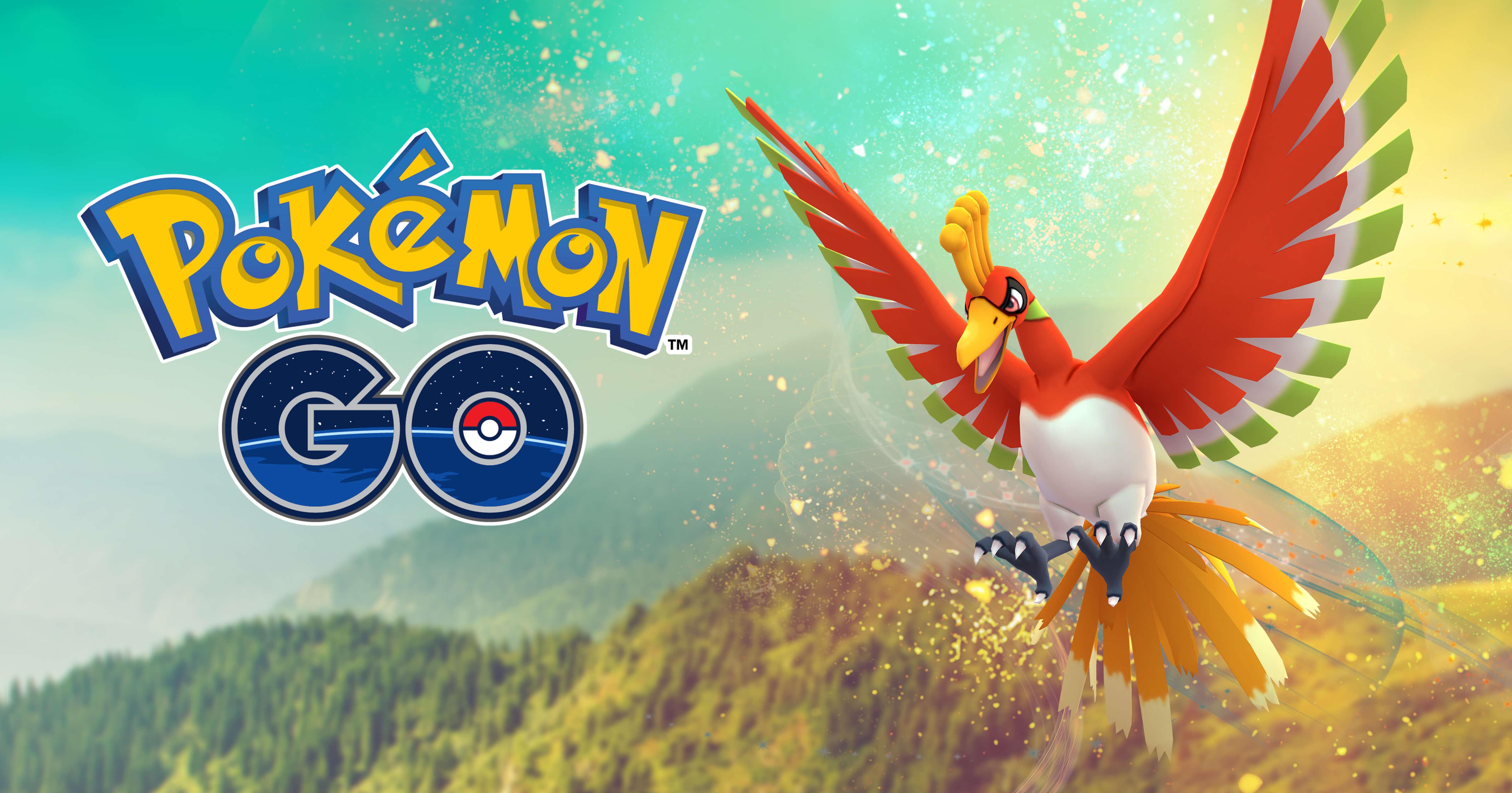 Pokémon GO Ho-Oh iOS