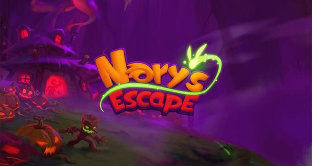 """Im neuen Action-Runner """"Nory`s Escape"""" flüchtet ihr vor einer fiesen Hexe"""