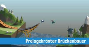 """2,29€ statt 5,49€: Brückenbau-Spiel """"Poly Bridge"""" erstmals reduziert"""