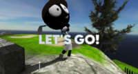 stickman cross golf battle ios multiplayer golf
