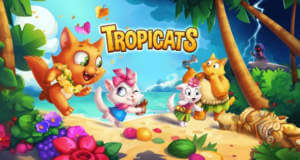 Tropicats: neues Match-3-Puzzle mit süßen Kätzchen