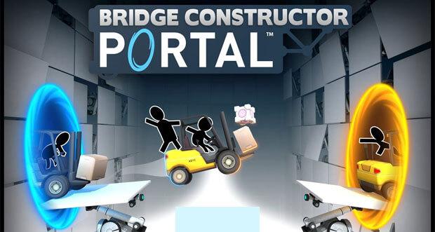 "Headup Games kündigt ""Bridge Constructor Portal"" an"
